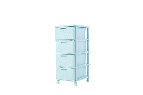 Family Rattan 4 Drawers
