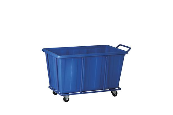 Plastic Laundry Cart (S)