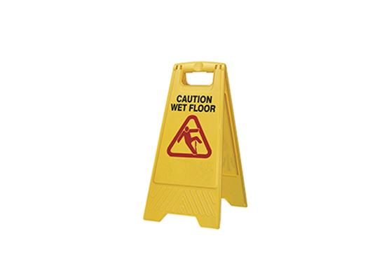Caution Wet Floor (M)
